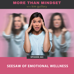 Seesaw of Emotional Wellness
